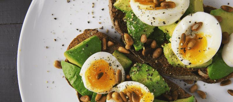 Gezond eten voor het afvallen