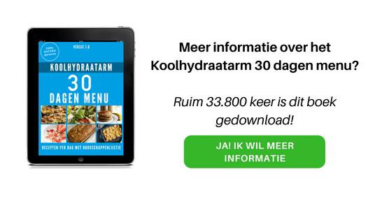 CTA KHA 30 dagen menu