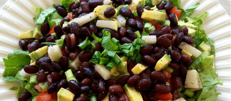 Koolhydraatarme Mexicaanse salade 800x350px