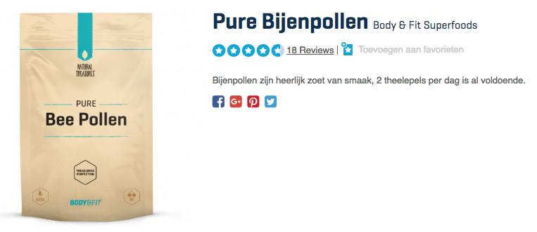 Pure Bijenpollen kopen