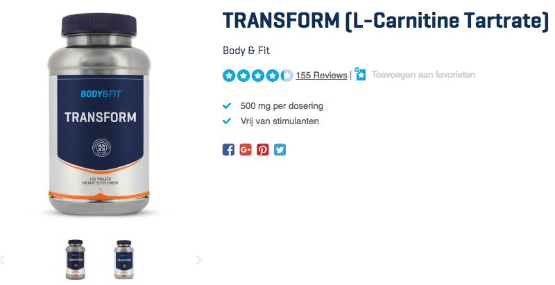 TRANSFORM (L-Carnitine Tartrate)
