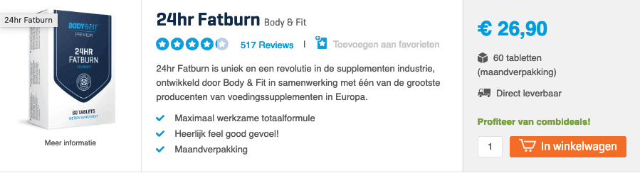 Beste afslankpillen top 2 fatburn