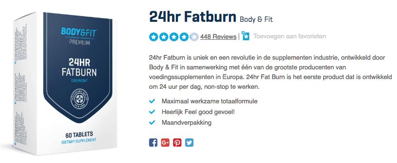 Koop 24hr Fatburn