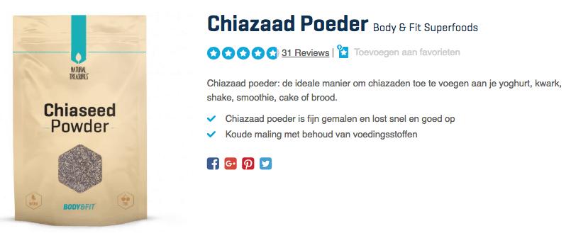 Koop Chiazaad Poeder