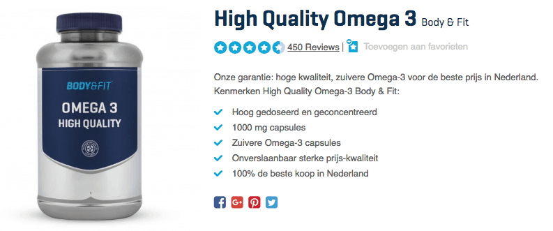 Koop High Quality Omega 3