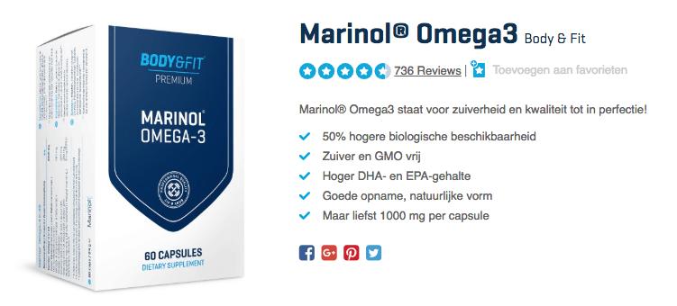 Koop Marinol Omega 3