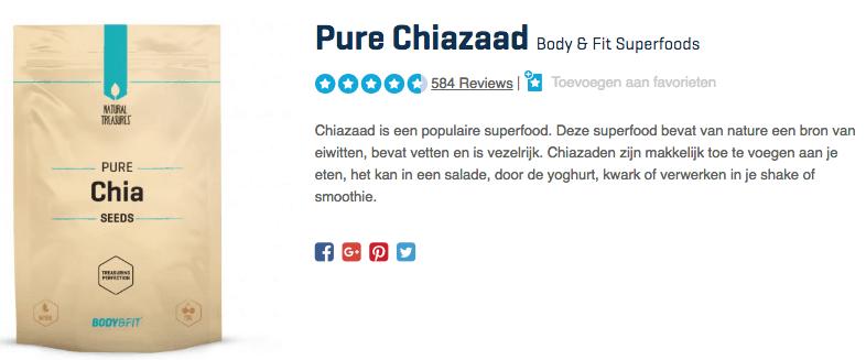 Koop Pure Chiazaad