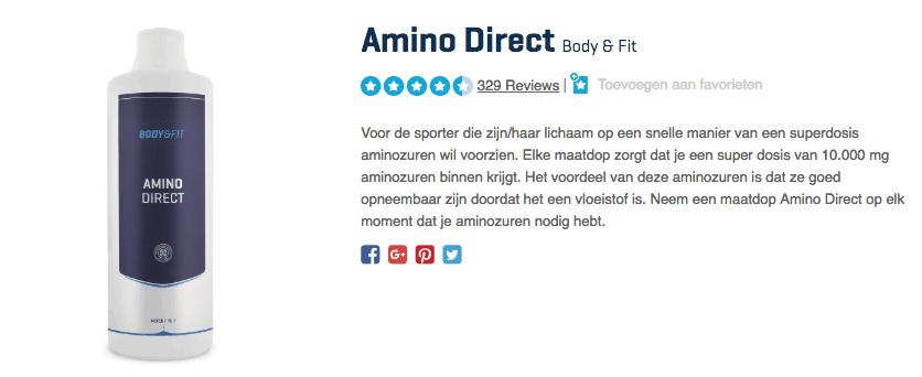 Kopen Amino Direct