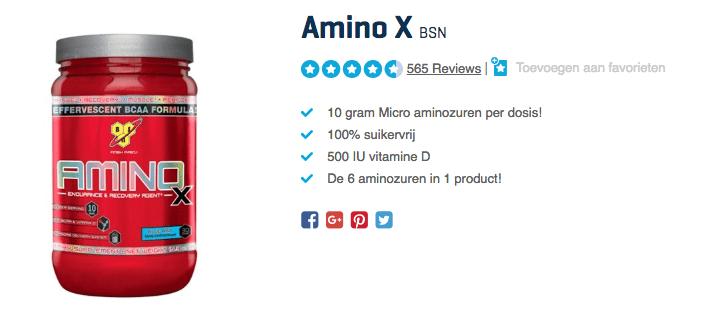 Kopen Amino X