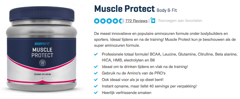 Kopen Muscle Protect
