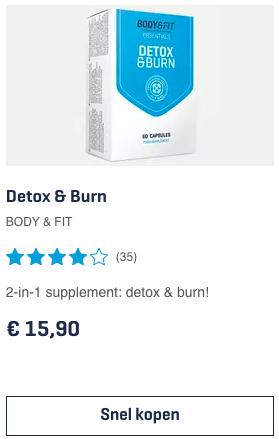 Top 3 Detox & Burn BODY & FIT review