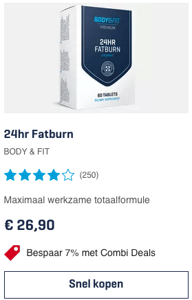 Top 4 24hr Fatburn - Body & Fit review