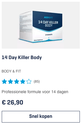 Top 5 14 Day Killer Body BODY & FIT review