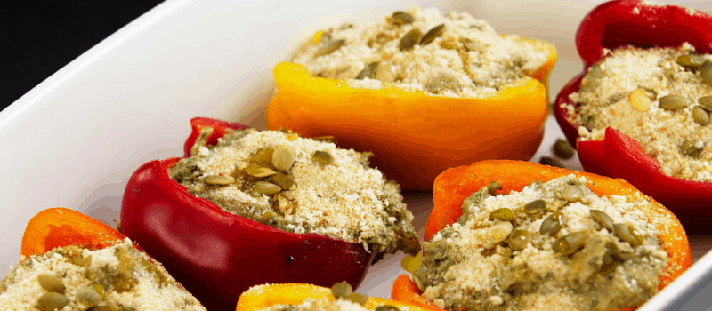 gevulde paprika vegetarische 800x350px