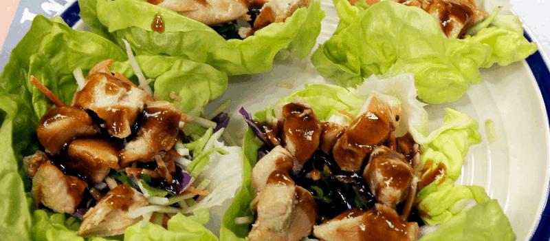 Recepten met wraps?Heerlijke sla wraps met Oriëntaals gehakt