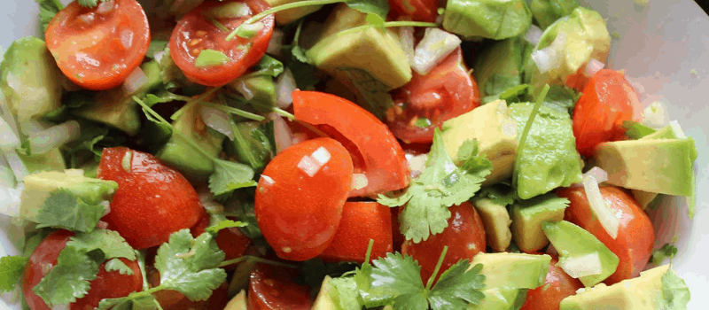 Avocadosoep met knoflook