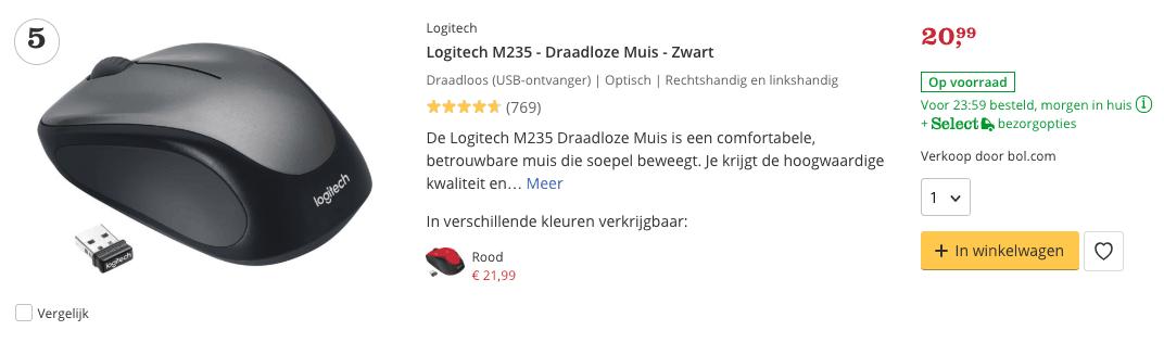 Beste game muis M235