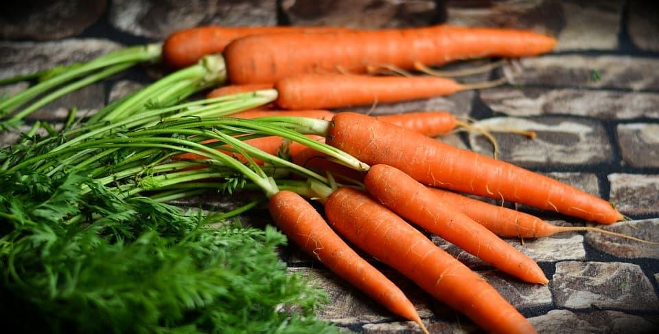 gebakken wortel