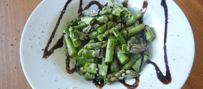 Koolhydraatarm vegetarische recepten met groene asperges!