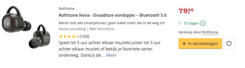 Beste Draadloze oordopjes – Bluetooth 5.0