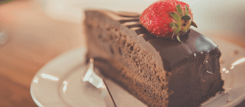 koolhydraatarme chocoladetaart 800x350px