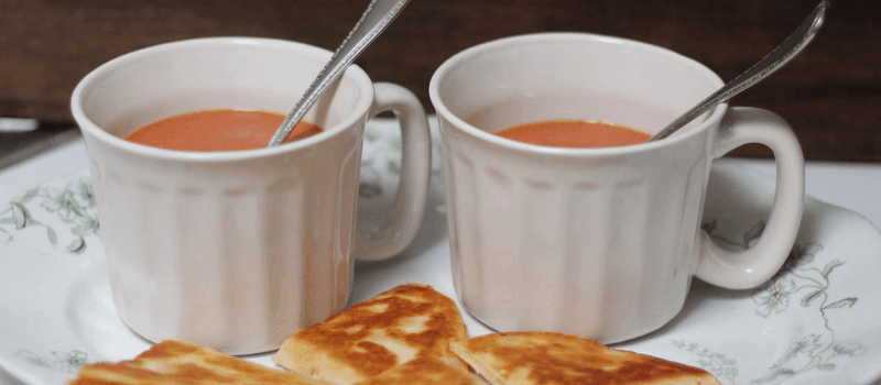 Heerlijk en snel tomatensoep recept