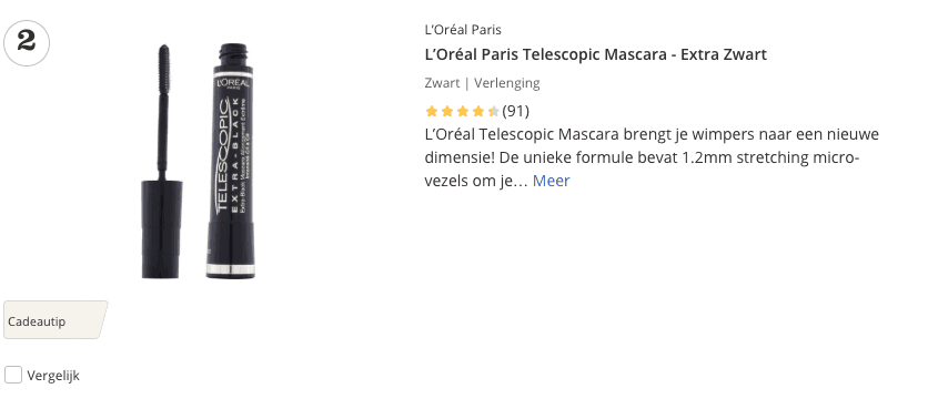 Beste oogmascara top 2