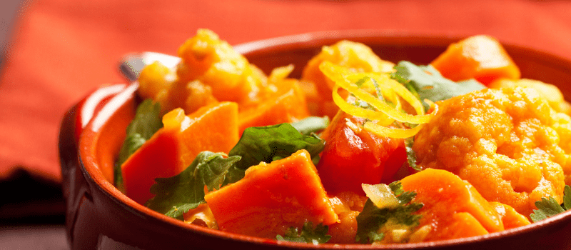 Curry maken? Bloemkool spinaziecurry!