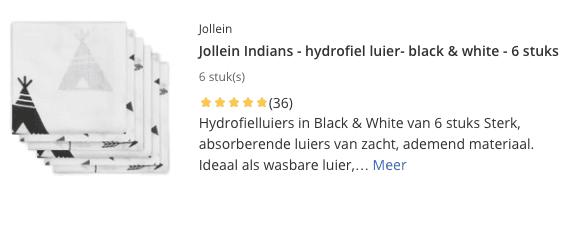 Beste Hydrofiele Luiers top 1