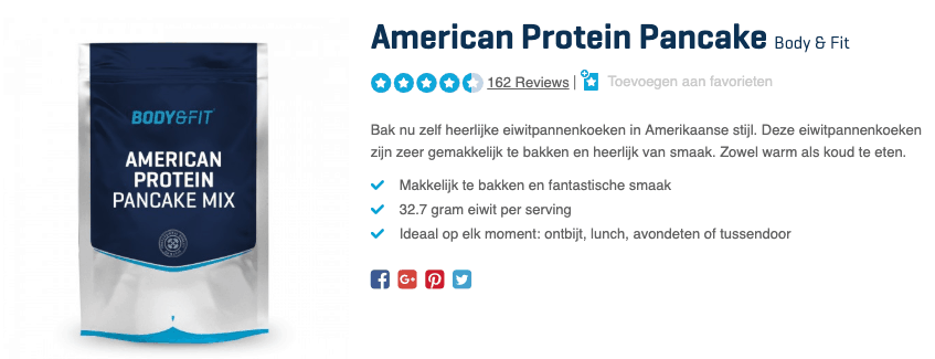 Beste American Protein Pancake top 4 review