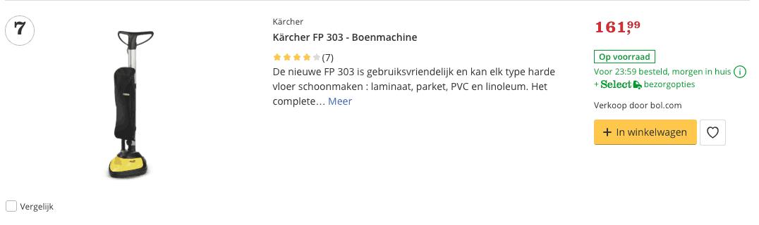 Beste Kärcher FP 303 - Boenmachine top 5 Review