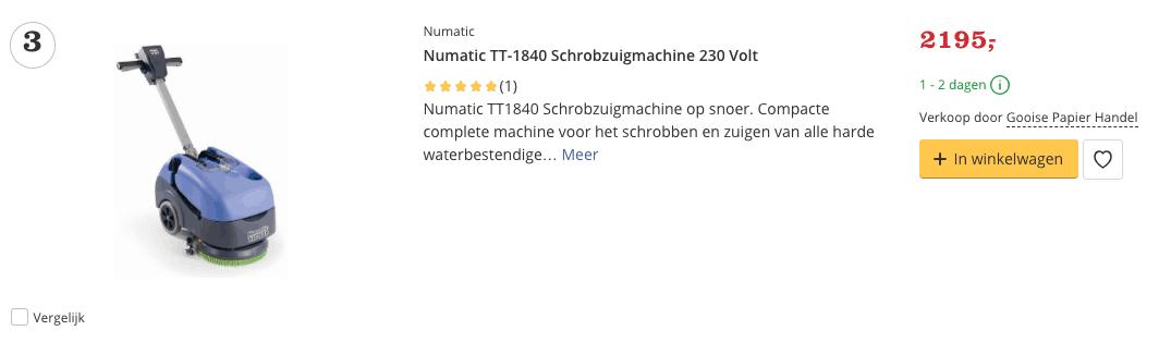 Beste Numatic TT-1840 Schrobzuigmachine 230 Volt Top 3 Review