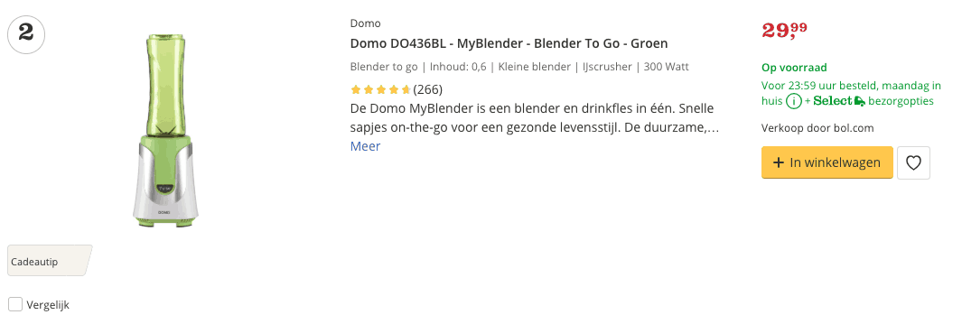 Beste blender top 2 review MyBlender