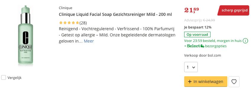 Beste top 3 Clinique Liquid Facial Soap Gezichtsreiniger Mild - 200 ml review