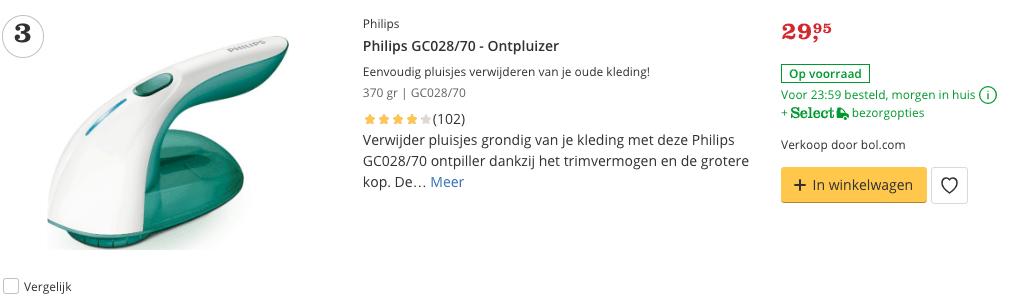 Beste top 3 Philips GC028:70 - Ontpluizer review