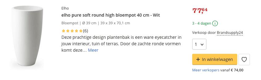 Beste top 4 Elho soft high bloempot review