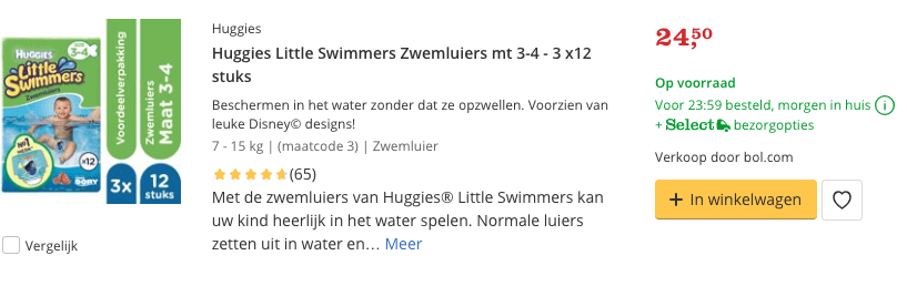 Beste zwemluiers top 2 Little Swimmers