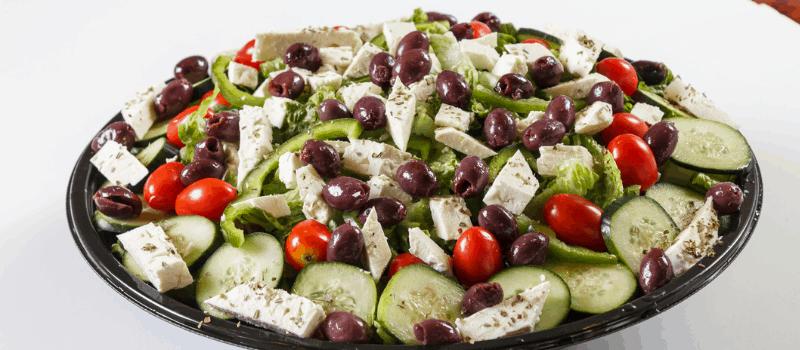 Gegrilde Griekse salade? Heerlijk en eenvoudig te maken!