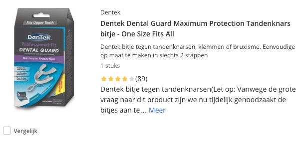 Top 3 Dentek Dental Guard Maximum Protection Tandenknars bitje review