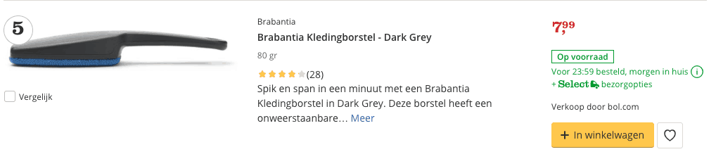 Top 5 Brabantia Kledingborstel - Dark Grey review