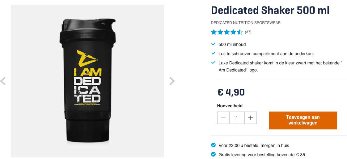 Top 5 Dedicated Shaker 500 ml review