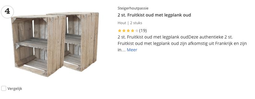 houten kist met legplank top 3