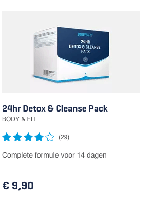 24hr Detox & Cleanse Pack review