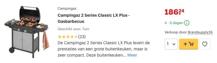 Campingaz 2 Series Classic LX Plus  Bij Team Outdoors   Team