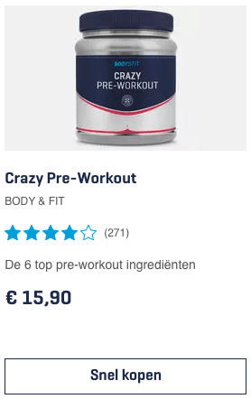 Top 2 Crazy Pre-Workout BODY & FIT review
