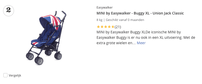 Top 2 MINI by Easywalker - Buggy XL - Union Jack Classic review