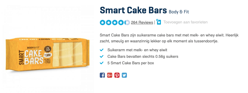 top 4 Smart Cake Bars Body & Fit review