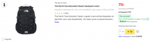 Top 1 The North Face Borealis Classic backpack zwart review