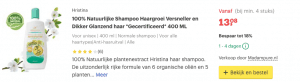 Top 2 100% Natuurlijke Shampoo Haargroei Versneller en Dikker Glanzend haar *Gecertificeerd* 400 ML review