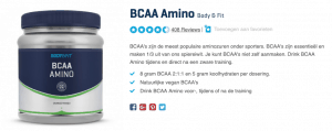 Top 2 BCAA Amino Body & Fit reviews